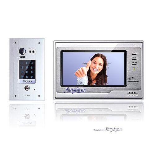 Anykam DT601FKP+692 Video Türsprechanlage Code Keypad Gegensprechanlage 2-Draht