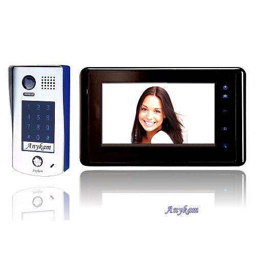 Anykam DT601KP+ 27B Video Türsprechanlage Gegensprechanlage Code Keypad 2-Draht