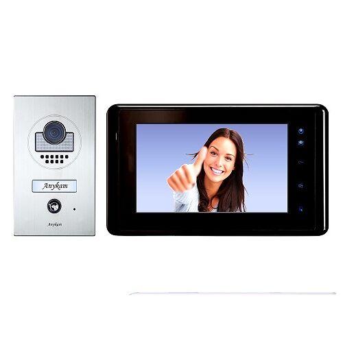 Anykam DT597+ DT27-B Videosprechanlage Türanlage Video Gegensprechanlage 2-Draht