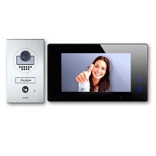 Anykam DT597+ DT47M-B Videosprechanlage Türanlage Video Gegensprechanlage 2-Draht