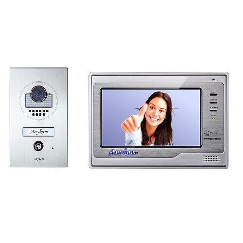 Anykam DT597+ DT692-SD Video Türsprechanlage Klingelanlage Gegensprechanlage 2-Draht