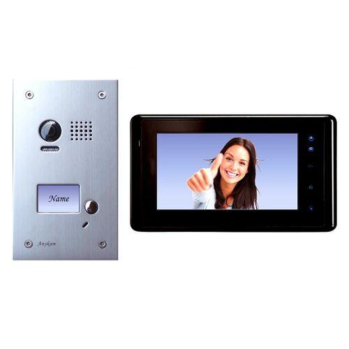 Anykam DT603+ DT27-B Videosprechanlage Türanlage Video Gegensprechanlage 2-Draht