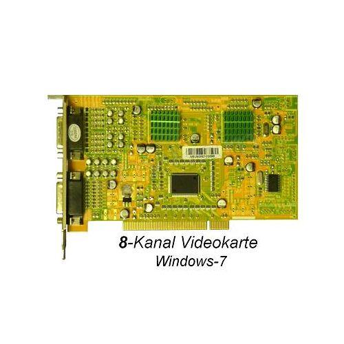 Anykam 8-Kanal Video Karte Videoaufzeichnung Videocard 240fps audio Windows7 SDVR6808A