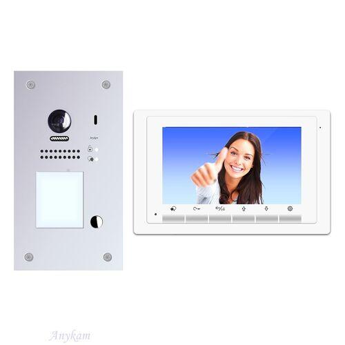 Anykam DT607F-S1+ DT17W Videosprechanlage Türanlage Gegensprechanlage RFID Türöffner