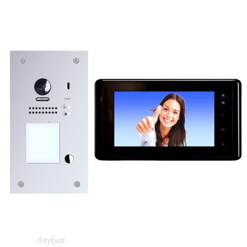 Anykam DT607F-S1+ DT27B Videosprechanlage Türanlage Gegensprechanlage RFID Türöffner