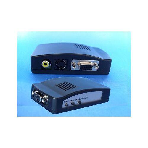 Anykam AV to VGA Konverter für Anschluss der Kamera an Monitor
