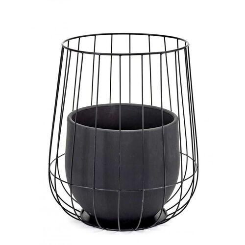 Serax Cage Pflanzentopf Schwarz