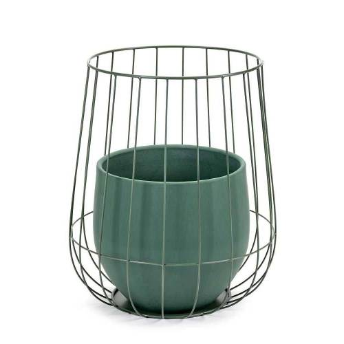 Serax Cage Pflanzentopf Kaki