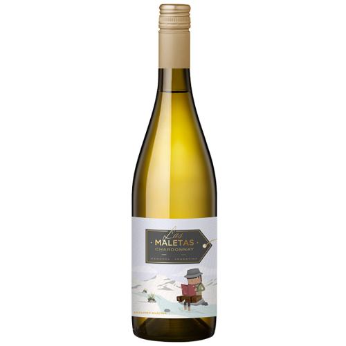Las Maletas Winemaker Selection Chardonnay - 2019 - Las Maletas - Argentinischer Weißwein