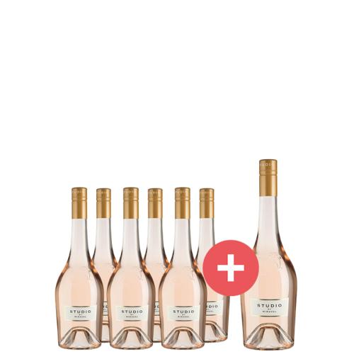 6er-Paket Studio by Miraval + GRATIS Magnumflasche - Weinpakete