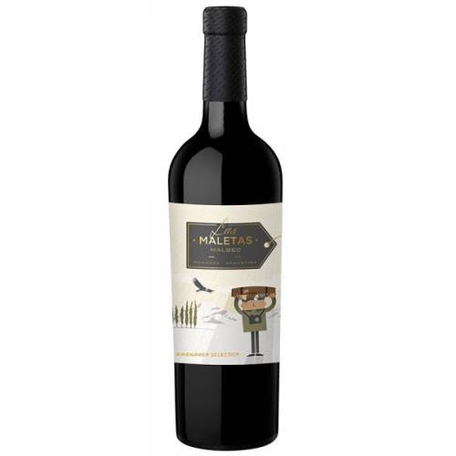 Las Maletas Malbec Winemaker Selection - 2019 - Las Maletas - Argentinischer Rotwein