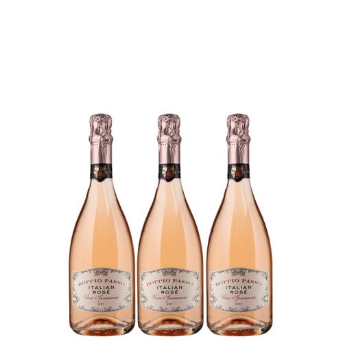 Casa Vinicola Botter 3er-Probierpaket Doppio Passo Rosé Spumante - Casa Vinicola Botter - Weinpakete
