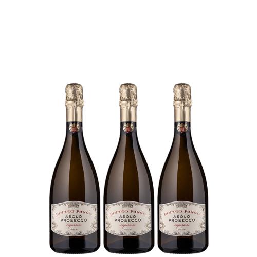 Casa Vinicola Botter 3er-Probierpaket Doppio Passo Asolo Prosecco Superiore - Casa Vinicola Botter - Weinpakete