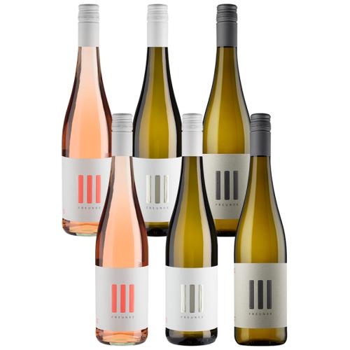 III Freunde 6er-Probierpaket III Freunde - III Freunde - Eller, Schweighöfer und Winterscheidt - 3 Freunde - Weinpakete