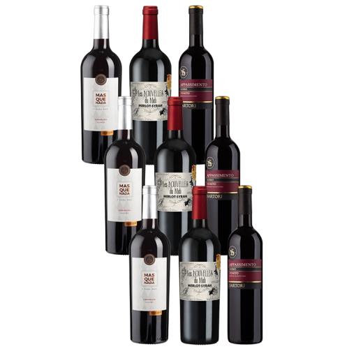 9er-Paket Genuss in Rot - Weinpakete
