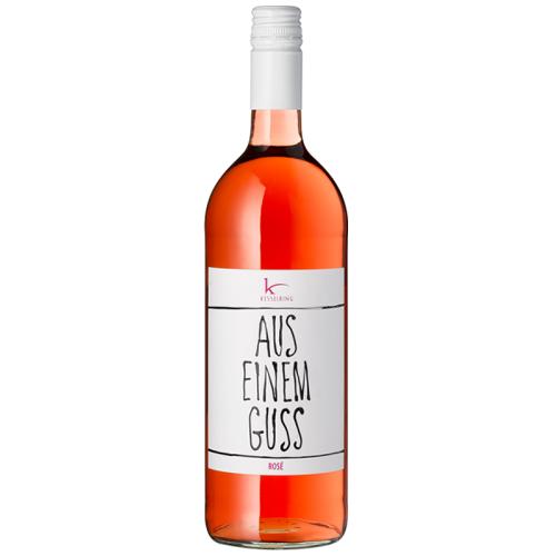 Kesselring Aus einem Guss Rosé halbtrocken - 1,0 L - 2019 - Kesselring - Roséwein
