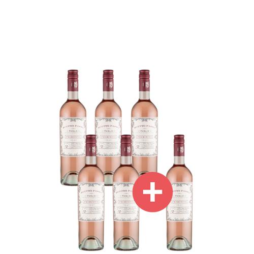 5+1 Doppio Passo Rosato - Weinpakete