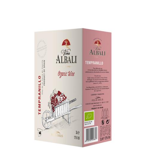 Solis Vina Albali Tempranillo (Bio) Bag-in-Box - 3,0 L - Félix Solis - Spanischer Rotwein