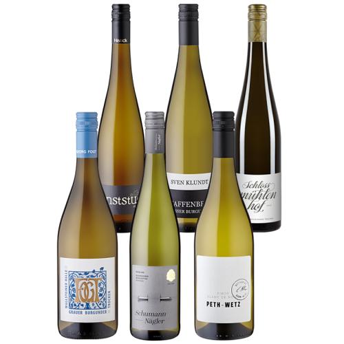6er-Paket Deutsche Rebsorten - Weinpakete