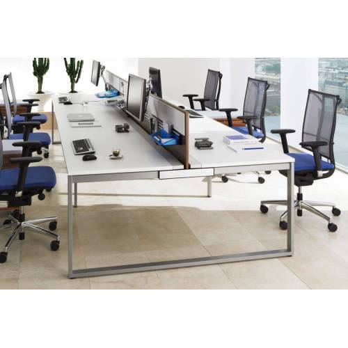 WORK Büromöbel Set, 1 Workbench, 280x124cm