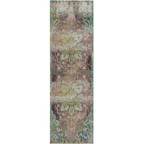 benuta Läufer für Flur Casa Türkis 70x240 cm