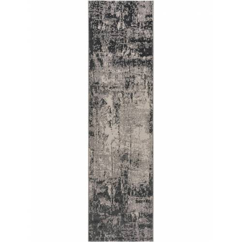 benuta CLASSIC Läufer für Flur Antique Grau 80x300 cm