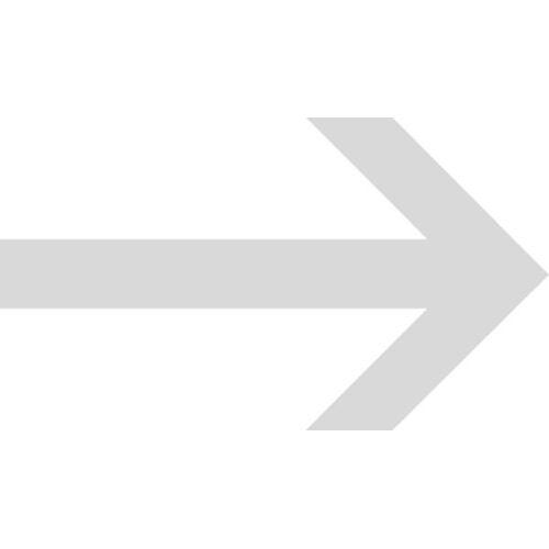 Schilder Klar Verkehrszeichen Pfeil für Halt-und Parkverbot, Folie selbstklebend