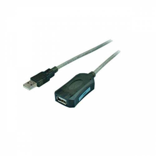 S-Conn USB 2.0 Repeater-Kabel, 5,0 m, 75604