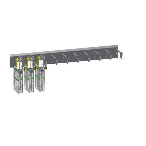 PHT Verschließbare Wandhalterung – 10er Leiste – für Typ 22240, 110220026-10