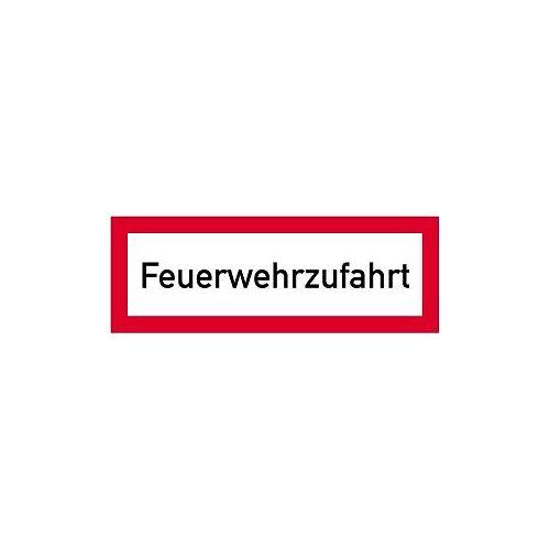 Moedel Feuerwehrzufahrt, Alu, reflektierend RA1, 594x210 mm, 57549