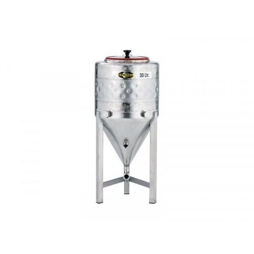 Speidel Edelstahl-Konus-Gärtank 30 Liter mit Kühlmantel, FD-035-S Var 0002