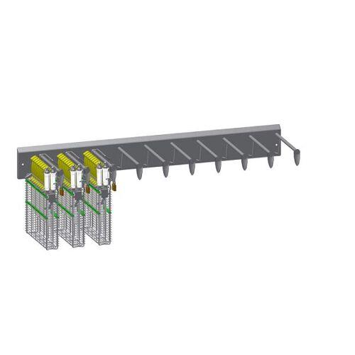PHT Verschließbare Wandhalterung – 10er Leiste – für Typ 22200, 110220011 -10