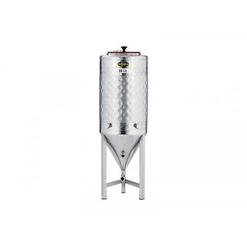 Speidel Edelstahl-Konus-Gärtank 60 Liter mit Kühlmantel, FD-035-S Var 0001