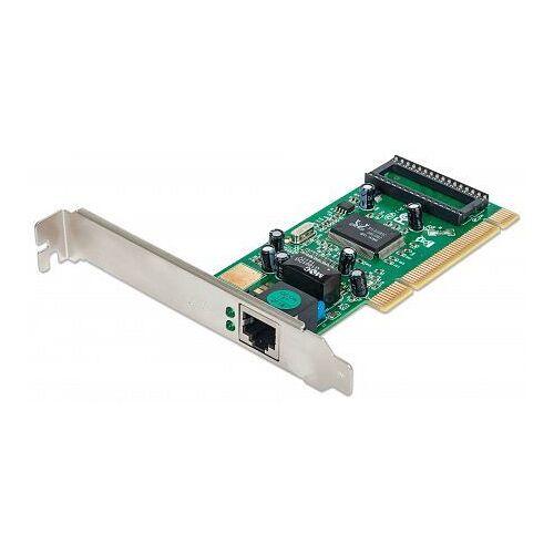 INTELLINET Gigabit PCI-Netzwerkkarte, 32 Bit 10/100/1000 Mbit/s PCI-Netzwerkkarte, 522328