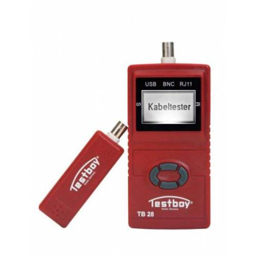 Testboy TB 28 Netzwerkverdrahtungstester, TB 28
