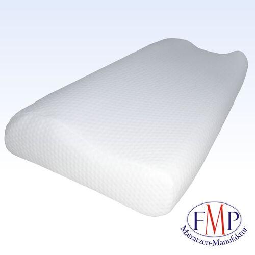 FMP Matratzenmanufaktur orthopädisches Nackenstützkissen mit Nackenwelle S