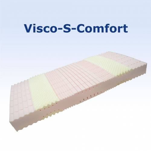 FMP Matratzenmanufaktur 7 Zonen Kaltschaummatratze Visco-S-Comfort H2 140x190 cm