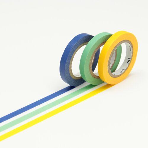 mt Slim Washi Tape 3er Set G mt masking tape