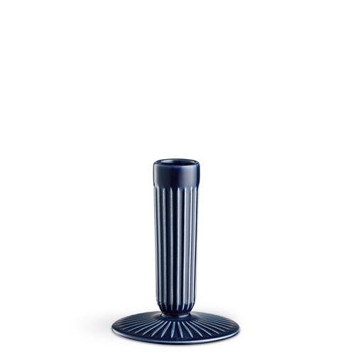 Hammershøi Kerzenständer Indigo 12 cm Kähler