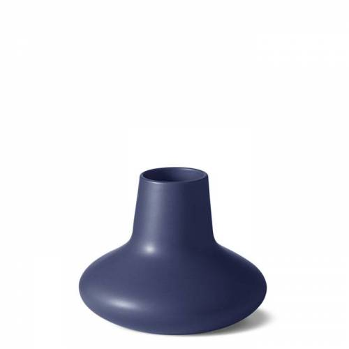 Koppel Vase Blau 15 cm  Georg Jensen