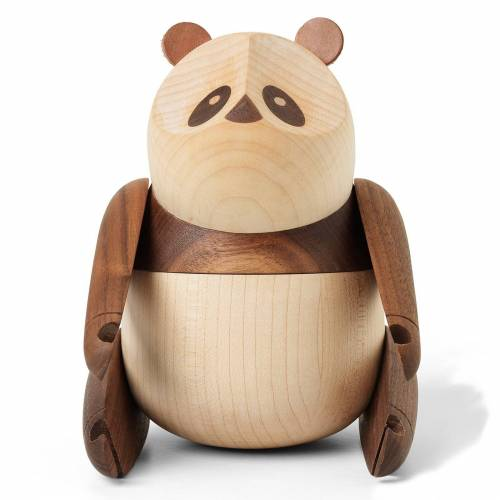 Panda Holzfigur groß  Architectmade
