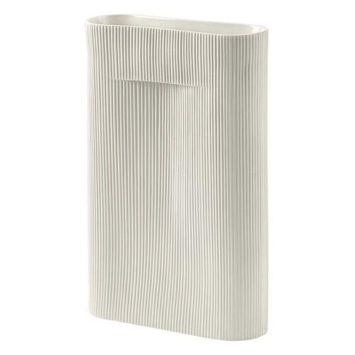 Ridge Vase 48.5 cm Off-White  Muuto
