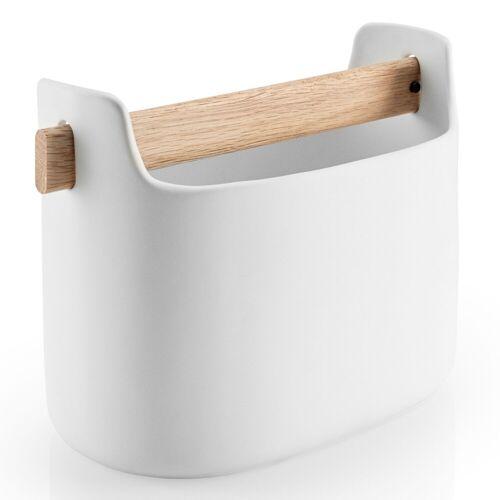 Toolbox Aufbewahrungsbehälter Weiß niedrig  Eva Solo