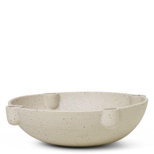 Bowl Kerzenhalter groß Keramik Ferm Living