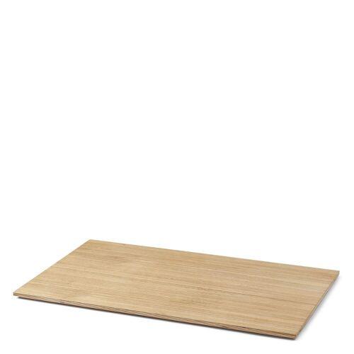 Tablett für Plant Box Large geölt Ferm Living
