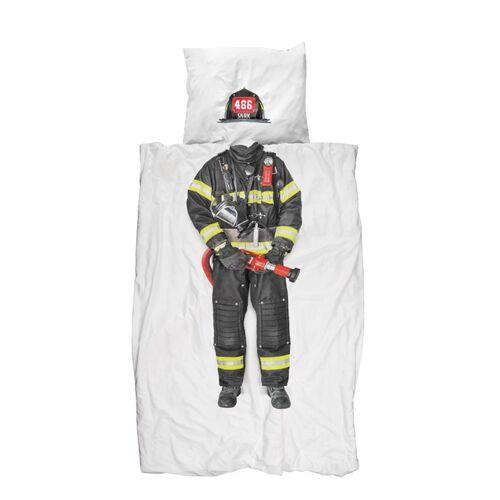 Bettwäsche Feuerwehrmann 135 x 200 cm Snurk