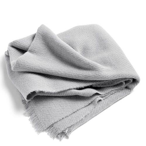 Mono Wolldecke Fog Hay