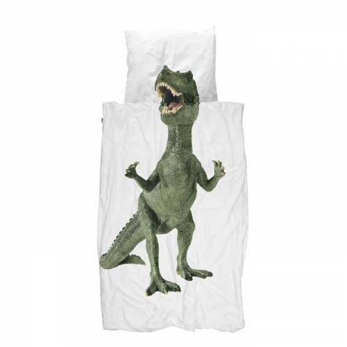 Bettwäsche Dinosaurier 135 x 200 cm Snurk