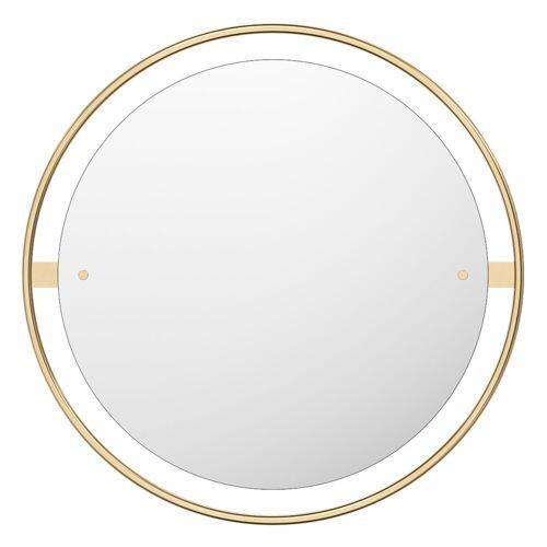 Nimbus Spiegel Ø 60 cm Messing poliert  Menu