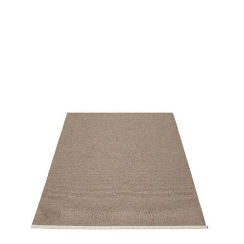 Mono Teppich Dark Mud/Mud 140 x 200 cm  Pappelina